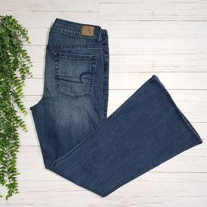 American Eagle Hi Rise Artist Flare Jeans